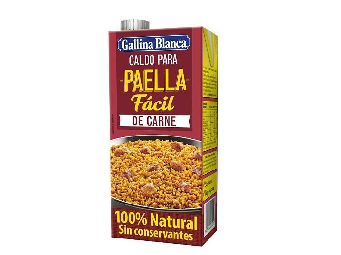 Caldo Paella de Carne 1L