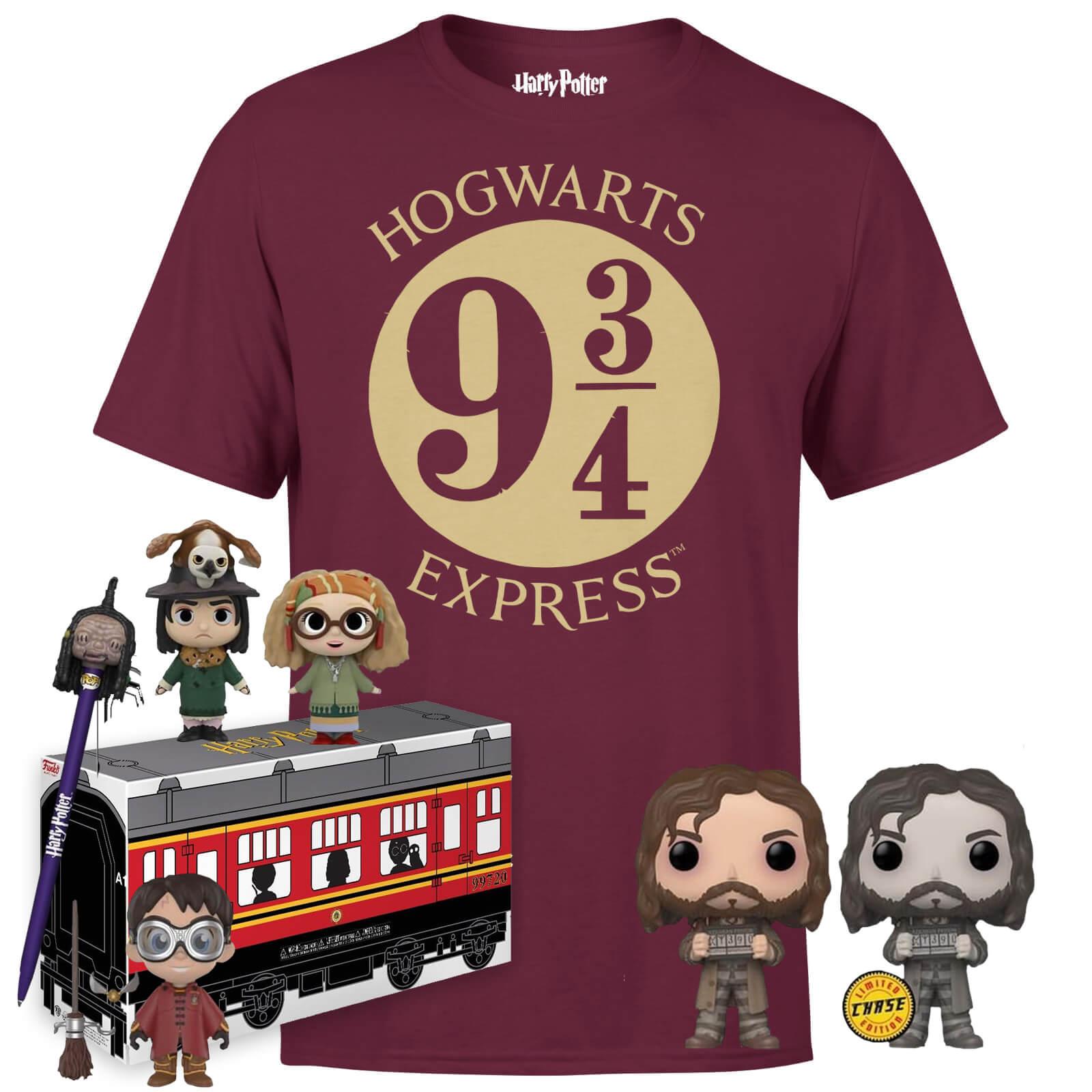 Pack Harry Potter Camiseta +  Funkos 33.4€