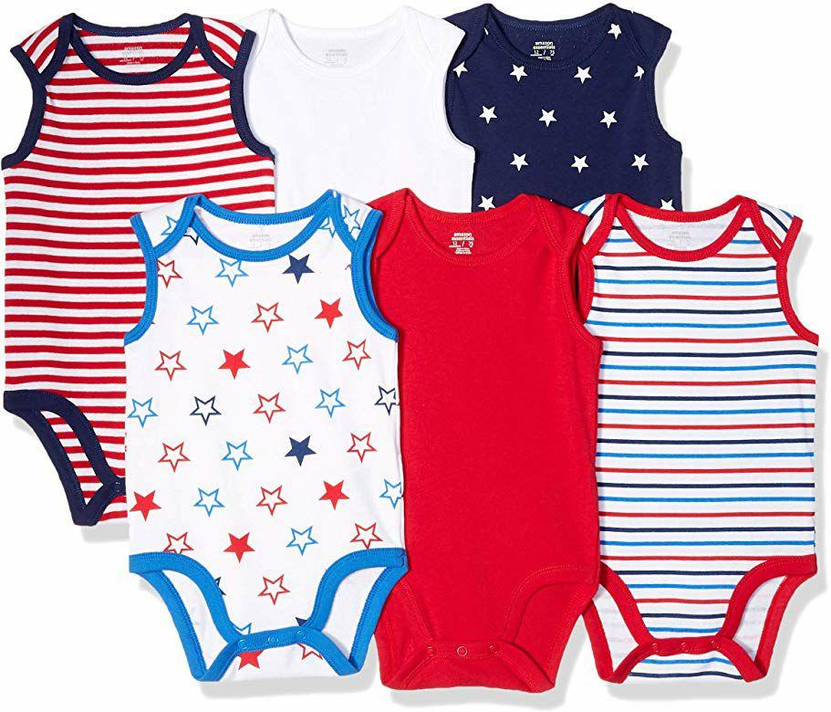 6 bodies para bebé (diferentes modelos y tallas)