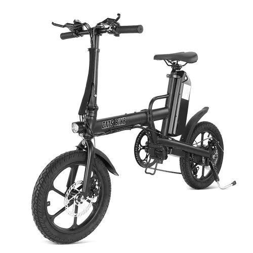 Bicicleta Eléctrica CMSBIKE F16-PLUS 13Ah 250W rueda 16 pulgadas y 6 marchas shimano