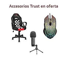 Accesorios Trust en Oferta Amazon