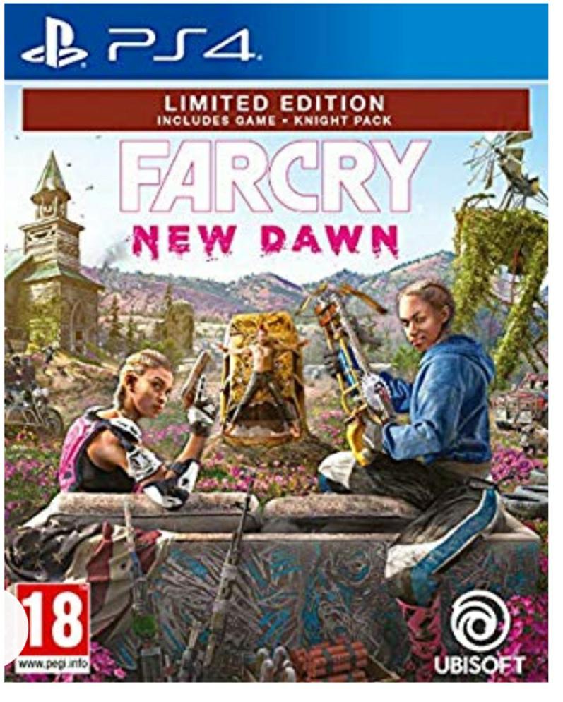 Farcry New Dawn PS4 Amazon Warehouse