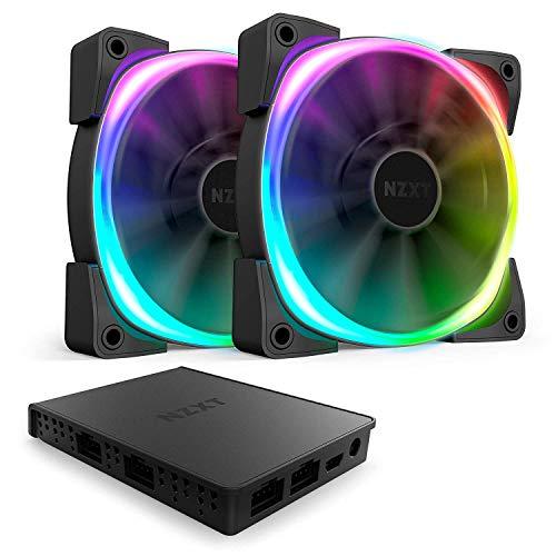 NZXT AER RGB 2 2x120mm + Hue 2 solo 69.9€