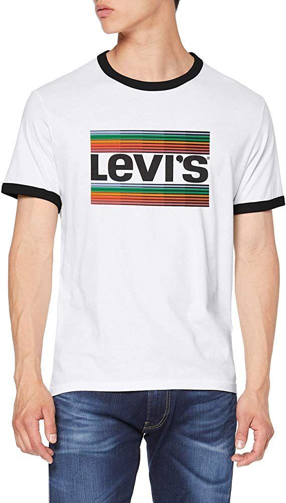 Camisera Levi's SS Ringer tee para Hombre