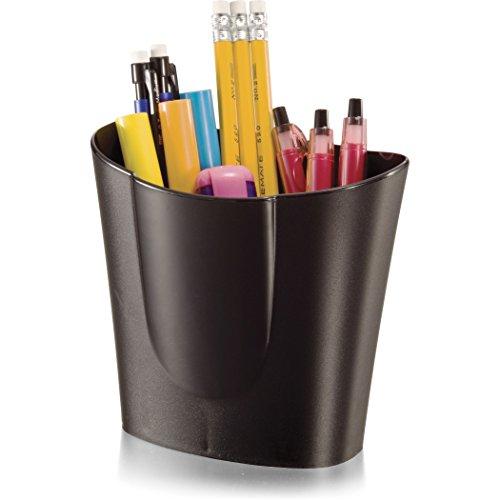 Officemate Achieva Big reciclado – Portalápices, color negro - Producto Plus