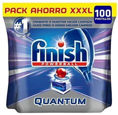 Pastillas finish quantum tamaño xxxl 100 pastillas