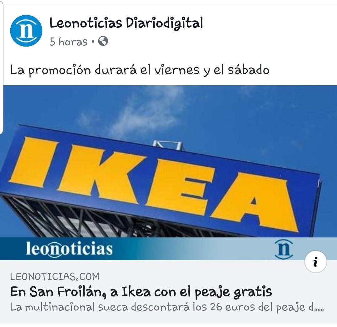 26€ de descuento en Ikea Oviedo por 100 € de compra