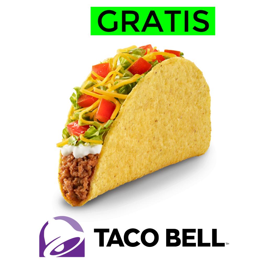 Taco GRATIS en Taco Bell por el día nacional del taco