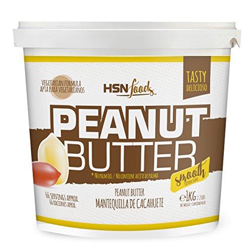 1kg de mantequilla de cacahuete con textura cremosa y suave