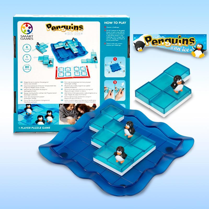 PENGUINS ON ICE- de Smart Game