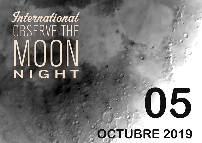 Observación Lunar+charlas GRATIS Planetarios y observatorios