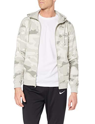 Nike M NSW Club Camo FZ BB Chaqueta, Hombre Talla XS (1 en Stock)