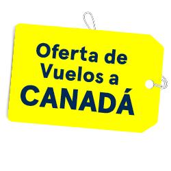 Promoción: vuelos directos i/v a Canadá