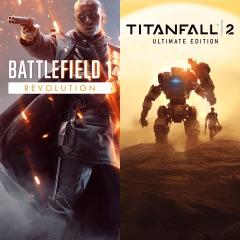 Colección Battlefield 1 premium + Titanfall 2 ultimate PSN