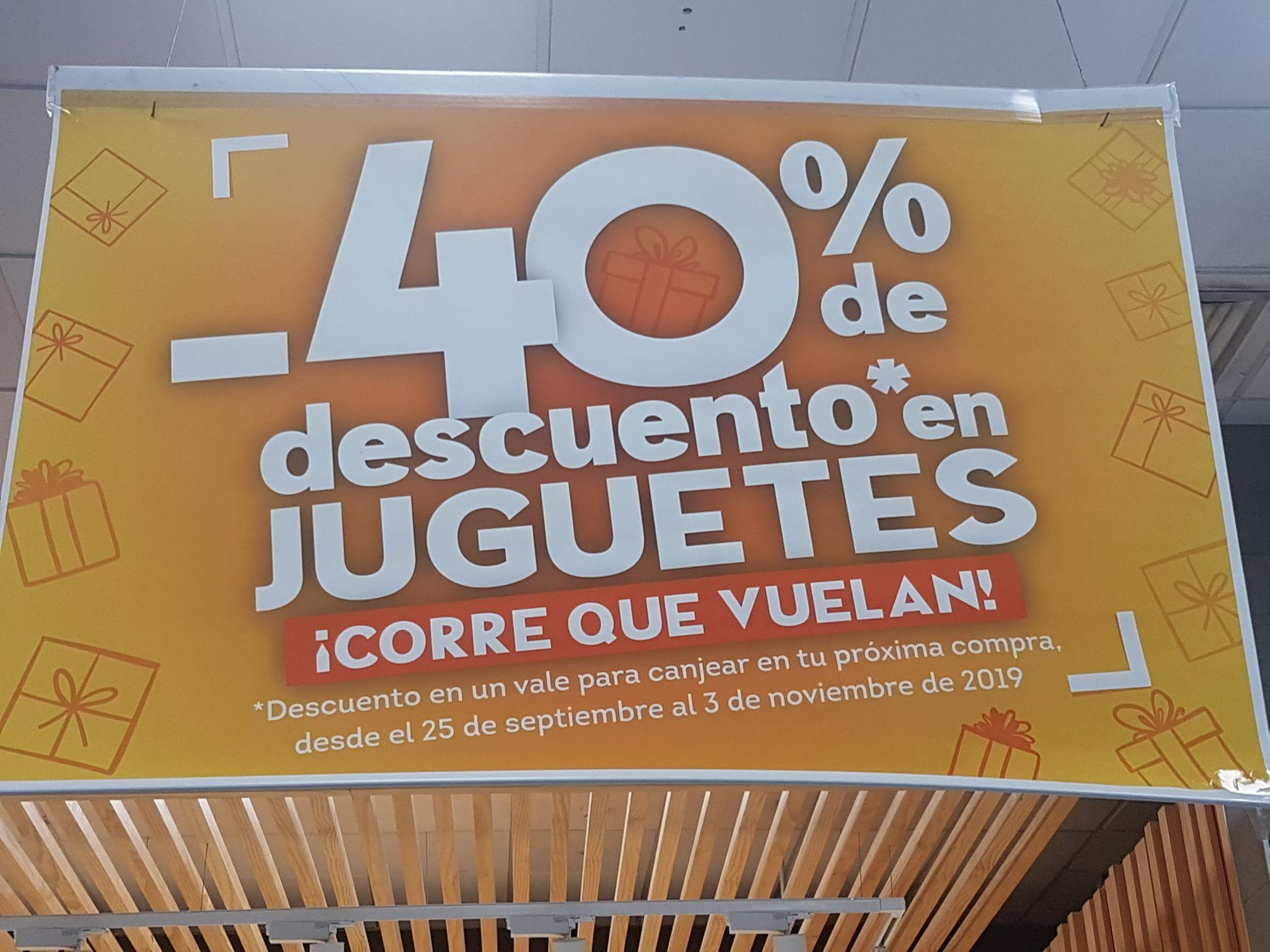 Hiperdino: vale del 40% en compras de juguetes