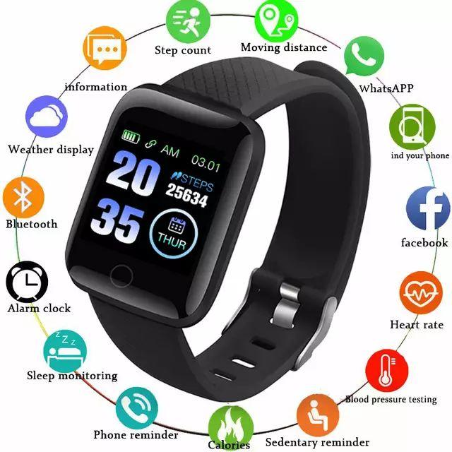 Smartwatch Gejian d13 a prueba de agua y con multitud de funciones