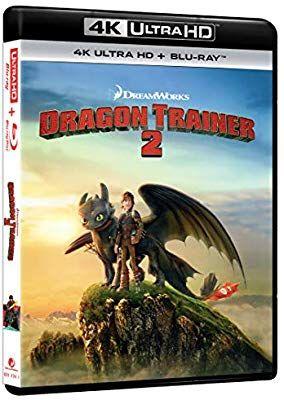 Bluray 4k uhd cómo entrenar a tu dragon 2