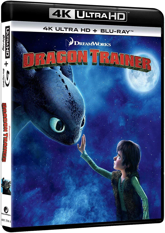 Cómo entrenar a tu dragón (Blu-Ray 4K Ultra HD+Blu-Ray) [Blu-ray]