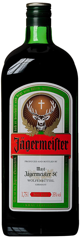Jaggermeister de 1.75l a 12€