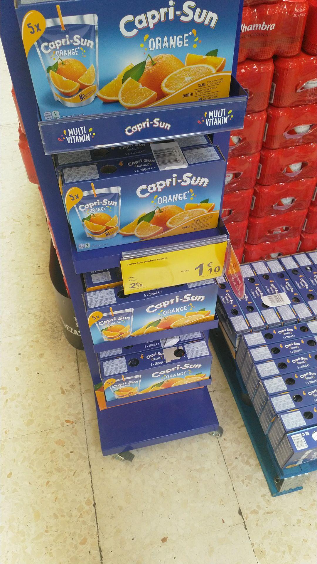 Capri Sun Orange 5x200CL (Carrefour de Almería)