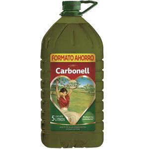 Aceite de oliva VIRGEN EXTRA CARBONELL 5L
