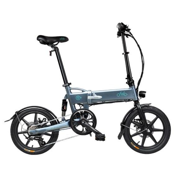 Bici eléctrica plegable con Cambio Shimano 6v