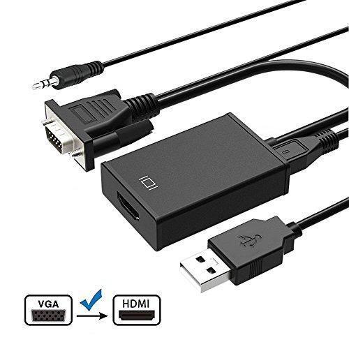 HDMI Cable Adaptador Conversor con Alimentación USB (1M)