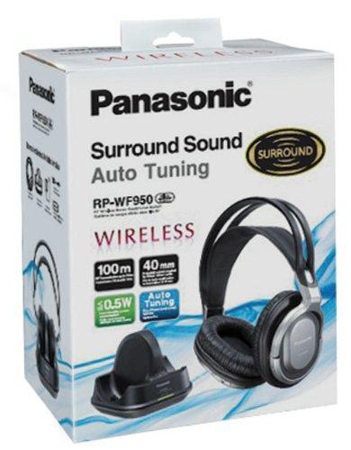 Auriculares de TV RF inalámbricos Panasonic RP-WF950EB-S
