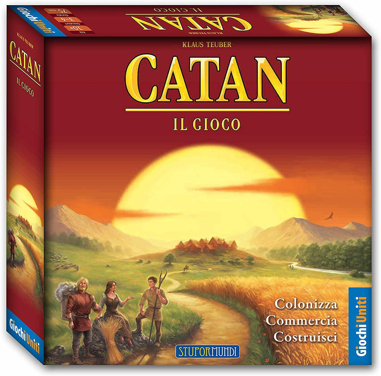 Catan ,juego de mesa. Italiano