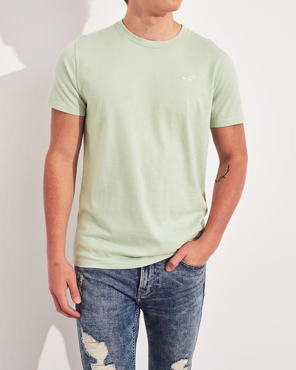 HOLLISTER Camiseta con cuello redondo