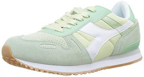 Diadora Titan Wn Soft, Zapatillas para Mujer Colores Verde y Beige