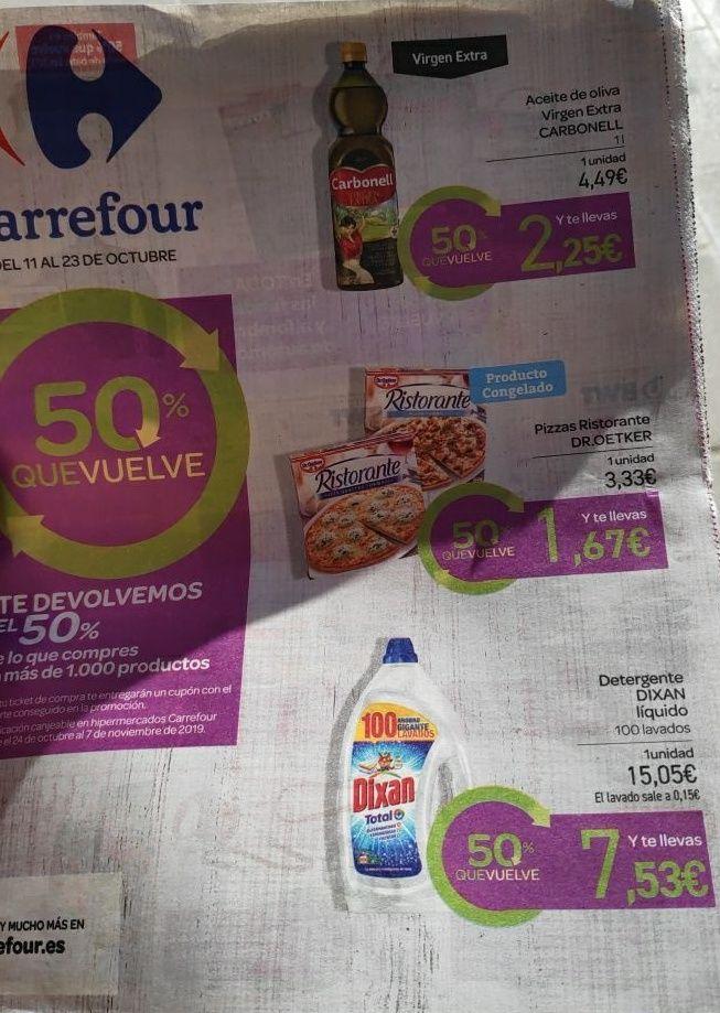 Vuelve el 50 que vuelve a Carrefour!!