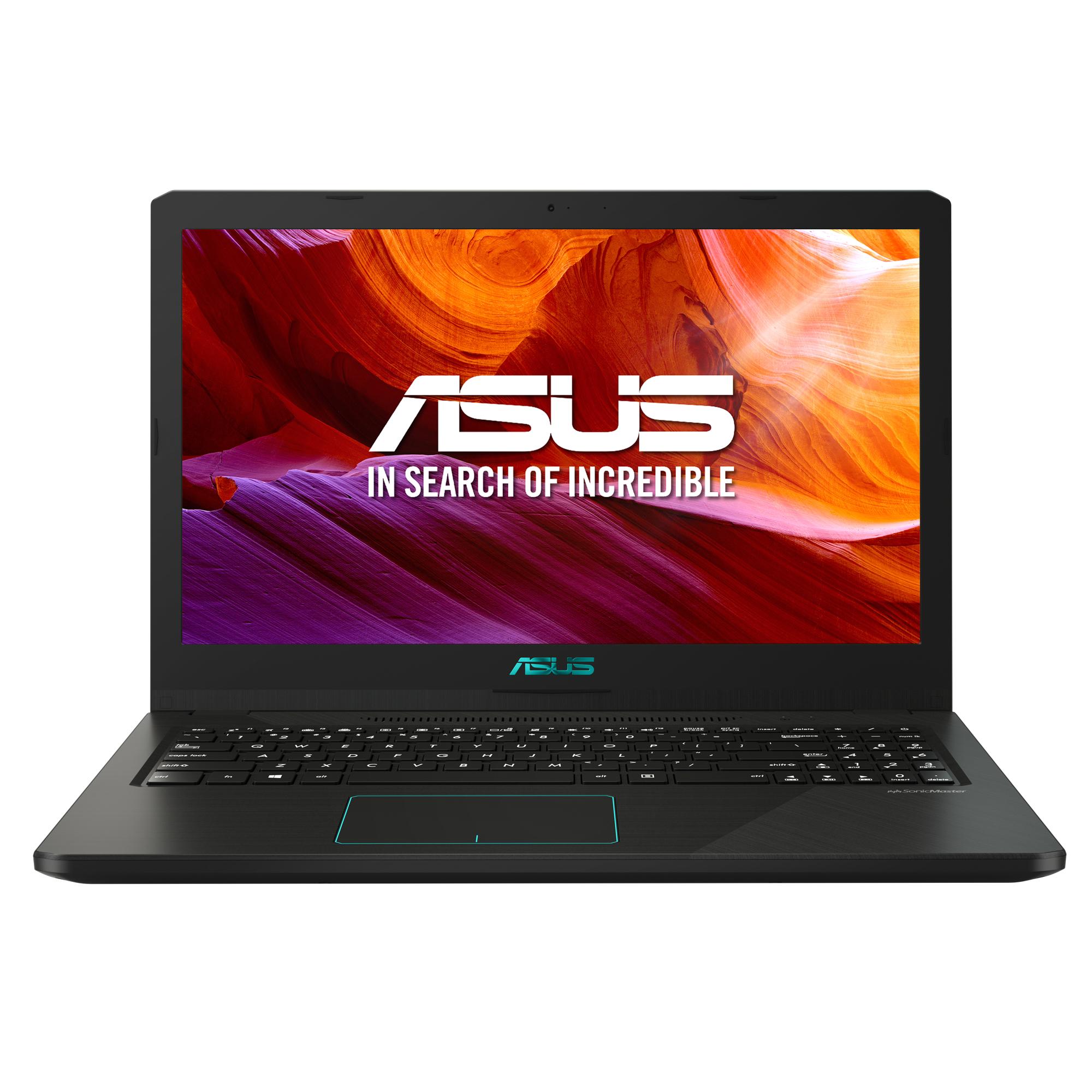 """Portátil ASUS R570ZD-DM107 restaurado / AMD Ryzen 5 / GeForce GTX1050 / 8GB RAM / 1TB HDD / 15,6"""" - 39,62cm / Negro / Teclado QWERTY español"""