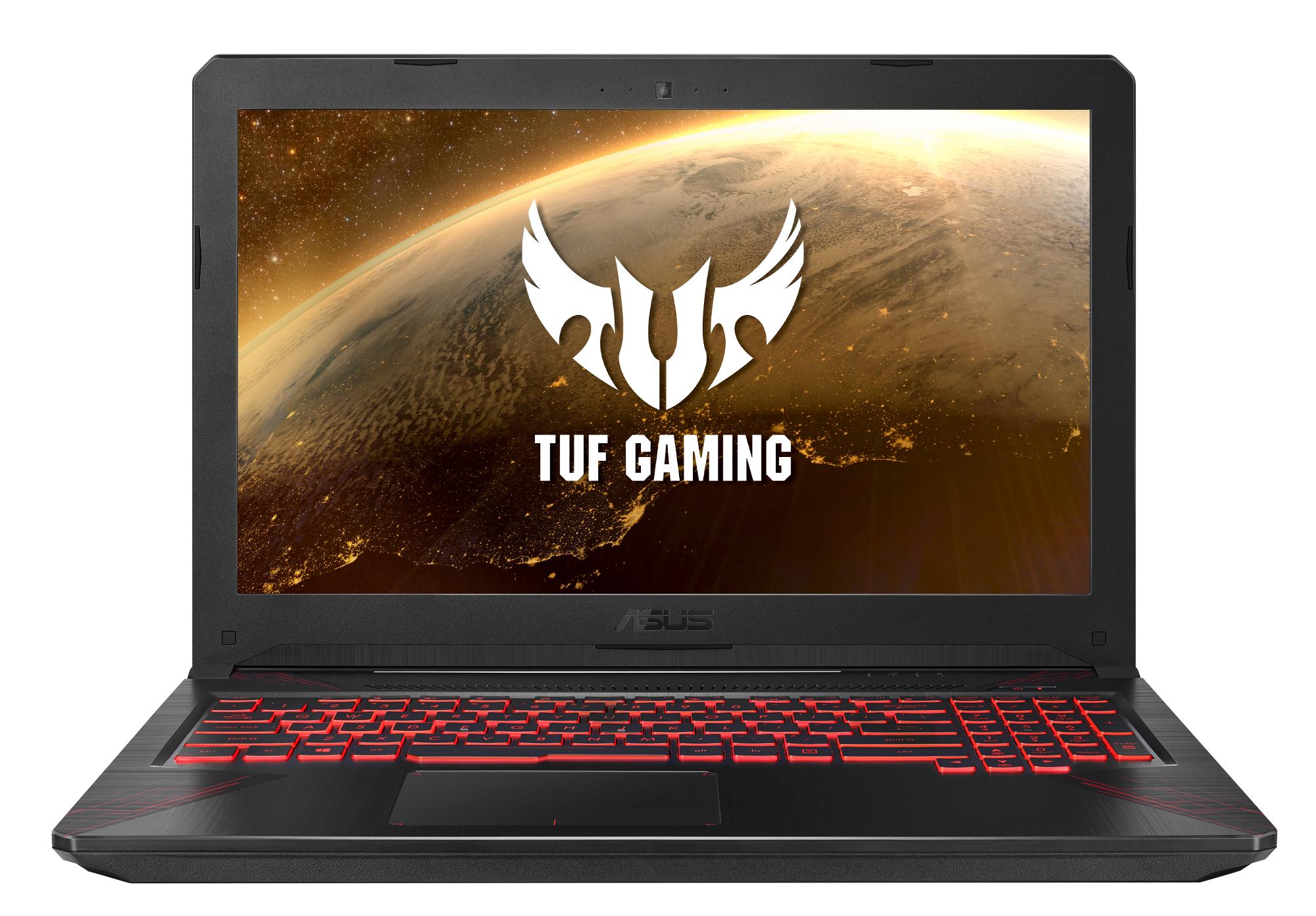 """Portátil ASUS TUF Gaming FX504GE-DM286 restaurado / i7-8750H / GeForce GTX1050Ti / 8GB RAM / 256GB SSD + 1TB HDD / 15,6"""""""
