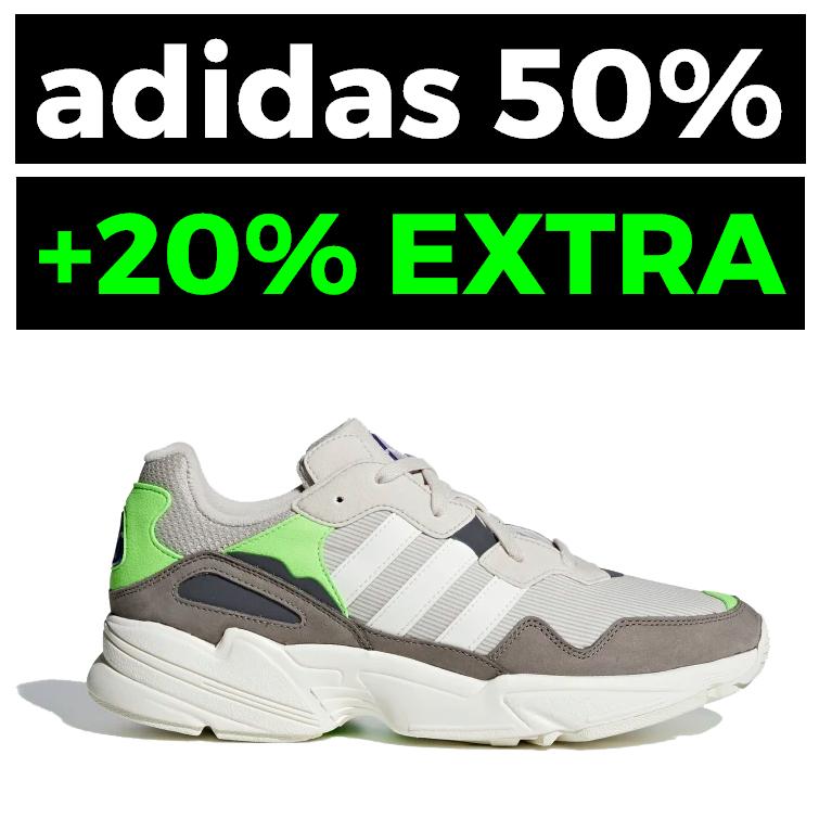 ADIDAS: 50% + 20% EXTRA en Outlet