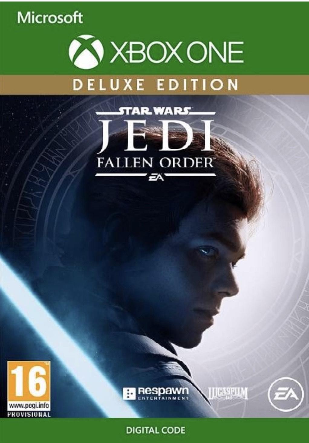 Jedi Fallen Order Deluxe para XBOX - 45€