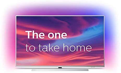 "Philips 58PUS7304/12 - Televisor de 58"" LED con 4K UHD, Ambilight, Google Assistant"