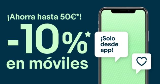 10% EXTRA en móviles en eBay