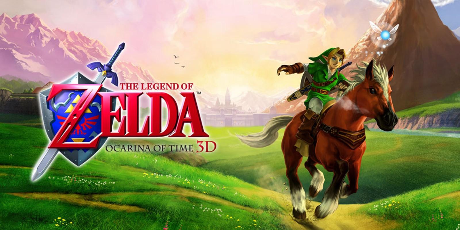 The Legend of Zelda: Ocarina of Time 3DS (Digital)