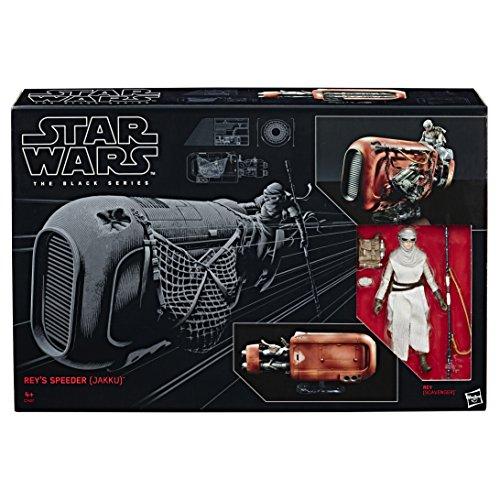 Figura Star Wars - Rey y speeder