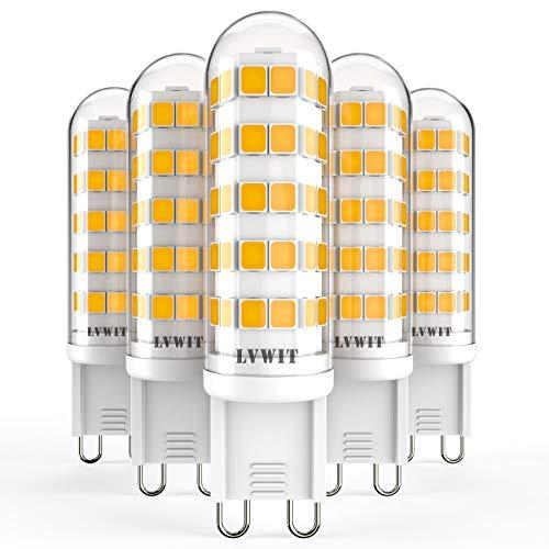 Pack 5x Bombillas LED G9-4.5W LVWIT