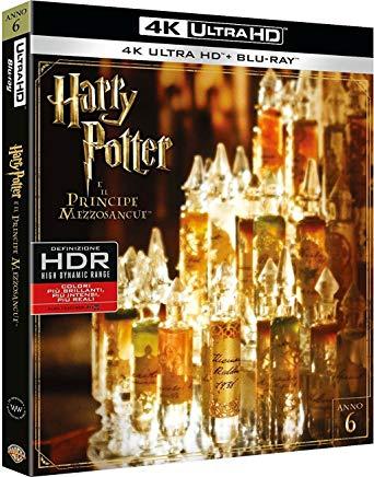 Harry Potter y el misterio del príncipe en 4K con castellano