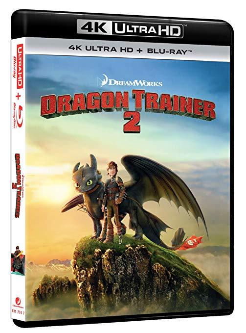 Como entrenar a tu dragón 2 (4K Ultra HD + Blu-Ray)