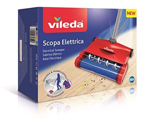 Vileda Quick & Clean - Escoba eléctrica inalámbrica