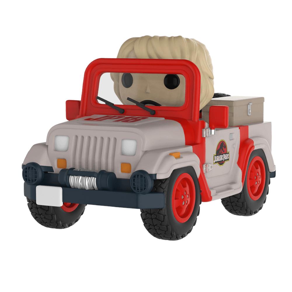 Figura Funko Pop! Rides Ellie en Jeep - Jurassic Park