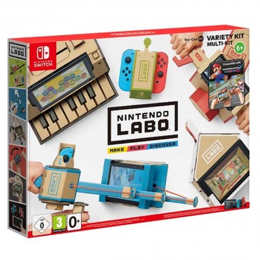 Switch Nintendo Labo: Toy-Con Kit variado o Kit Robot