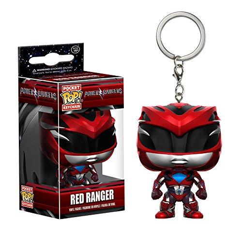 Funko Keychain Power Ranger Rojo
