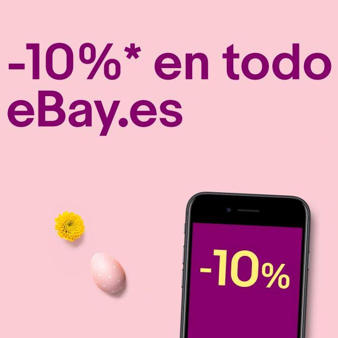 Chollos con un 10% EXTRA en TODO eBay