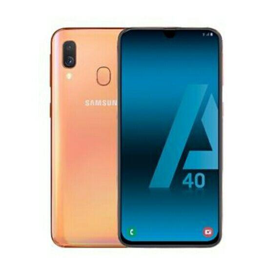 Samsung Galaxy A40 5,9'' 64GB Coral (Reacondicionado)