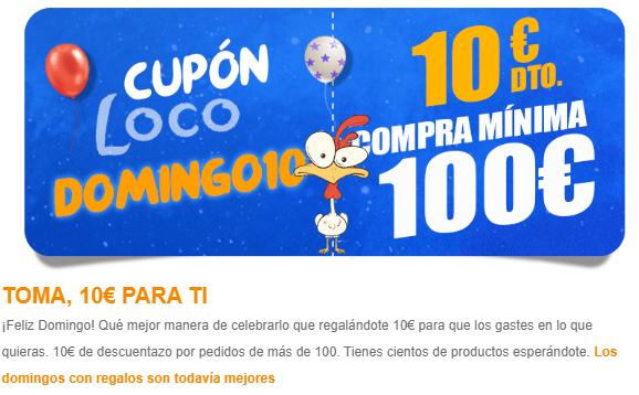 10€ de descuento en Mequedouno en pedidos de +100€